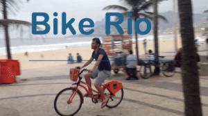 How to use the orange Itau bikes in Rio