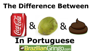 How not to order a coconut in Brazil