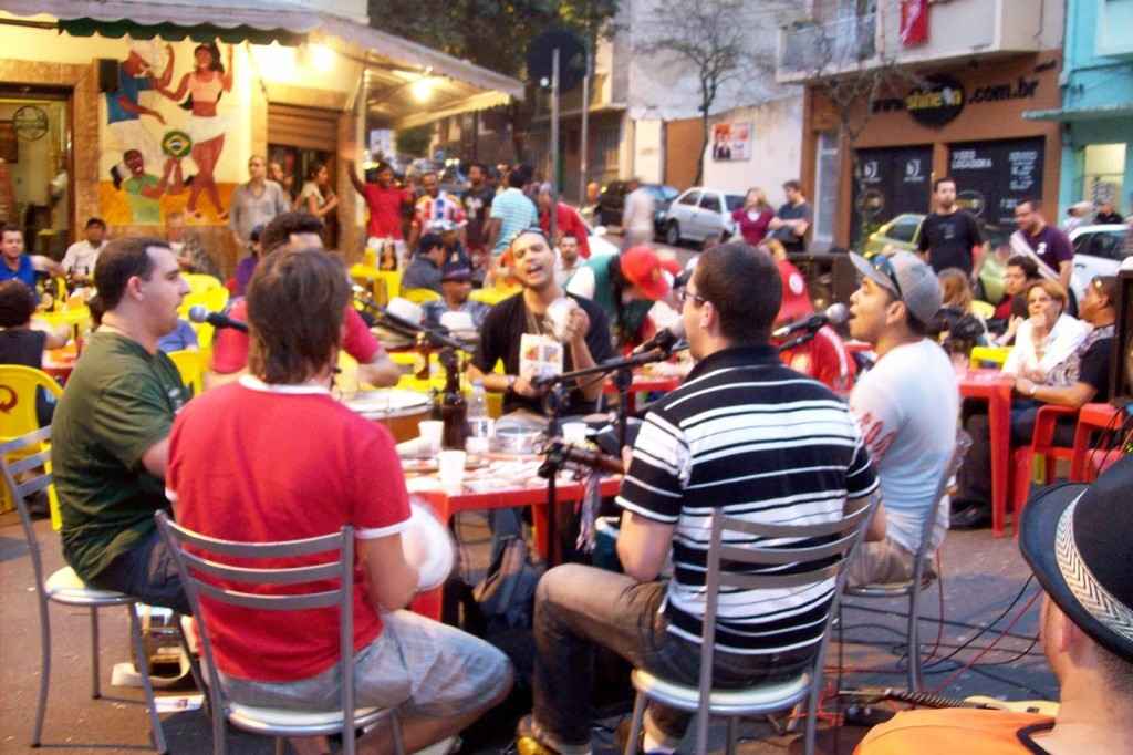 A typical night out in Brazil involves good music, good food and good people.