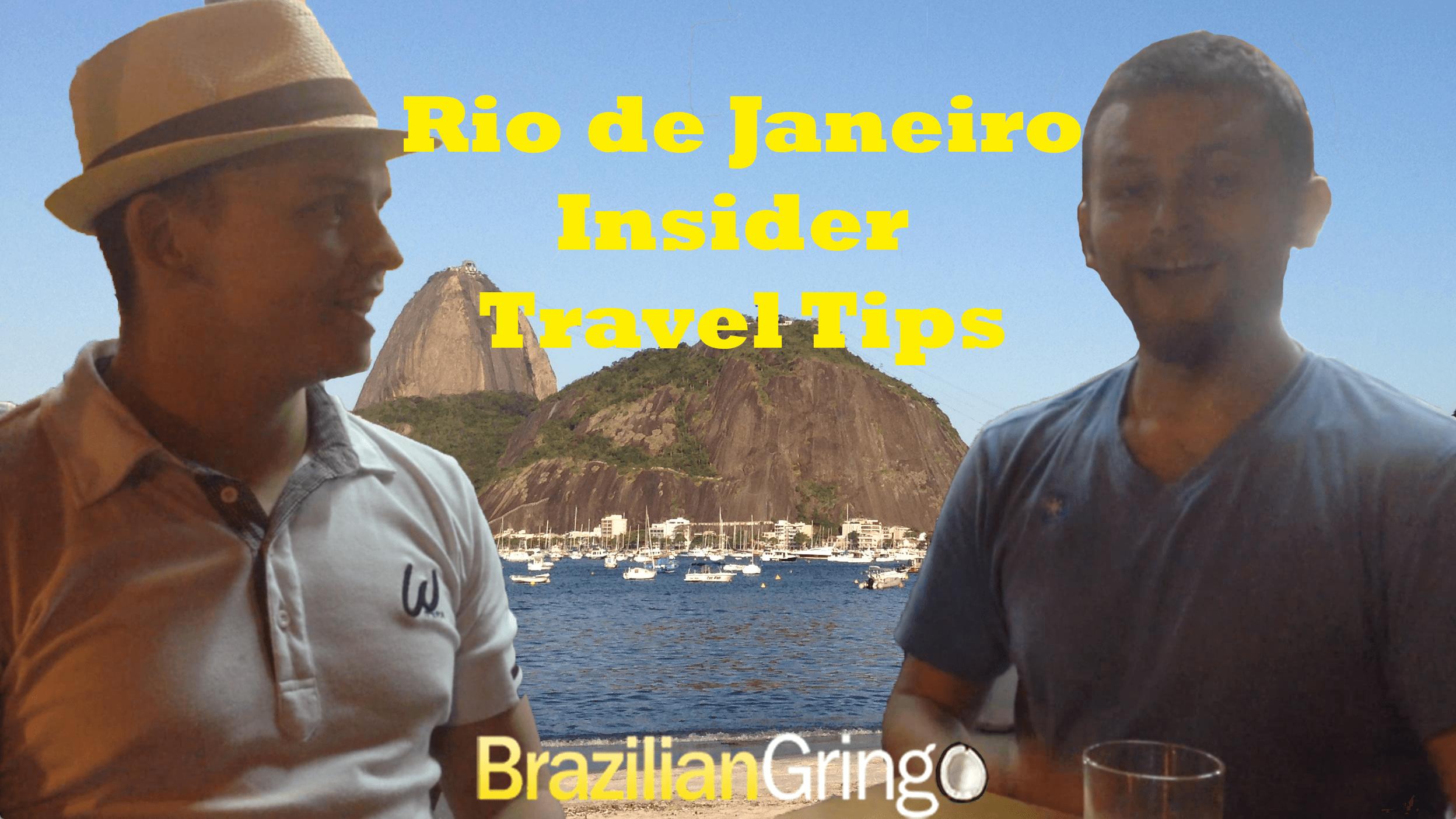 travel tips for rio de janeiro