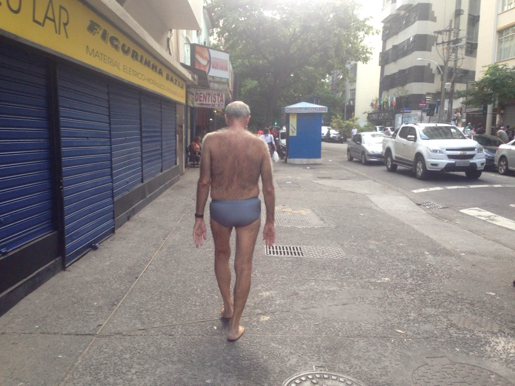 This is not an uncommon site in Rio de Janeiro.