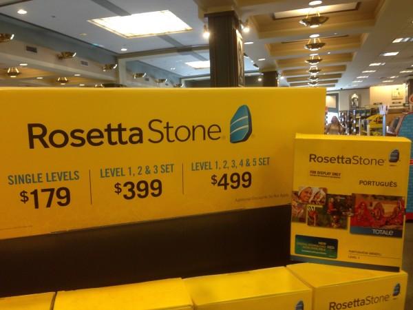 Rosetta Stone Portuguese is really exp