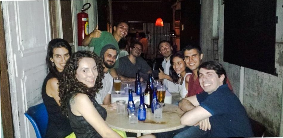 Teaching English is a great way to meet people in São Paulo