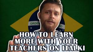 How to Pick The Right Teacher on Italki