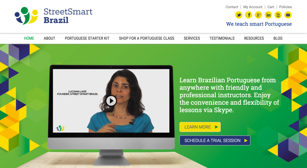 take portuguese classes with street smart
