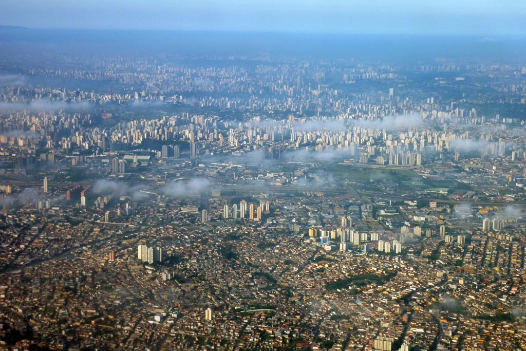aerial photo sao paulo