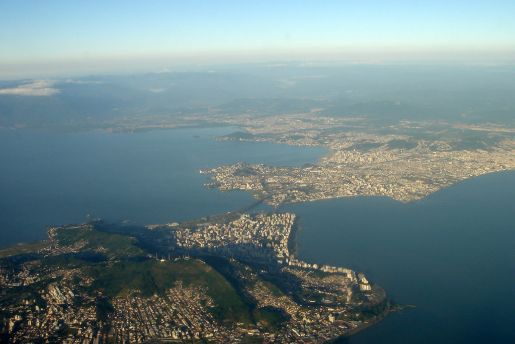 florianopolis aerial