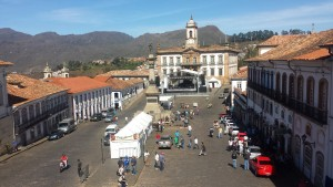 Ouro Preto praca tiradentes