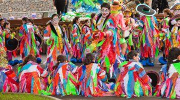 Locations of 2018 Carnaval Blocos