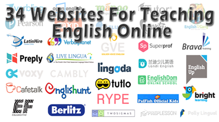 34 Websites Where You Can Teach English Online