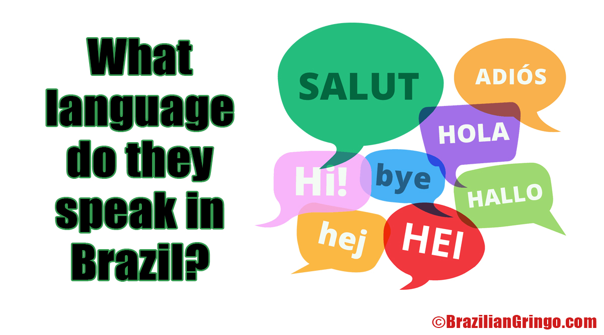 what is the brazilian language